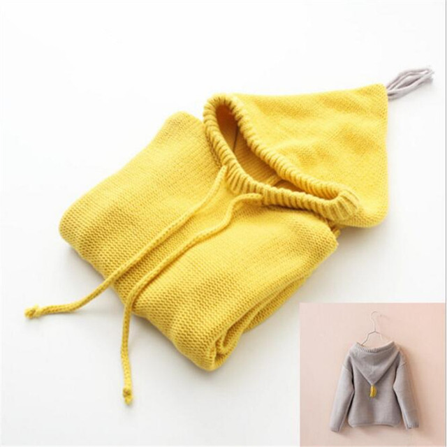 Fast High Quality Children Clothing 2016 Korean Cute Casual Fashion Pullover Knitted Sweater  Baby Girl Clothes Autumn&spring