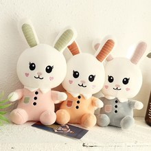 30CM Plush Stuffed Toys Lovely Cartoon Rabbit Baby Kids Toys for Girls Birthday Christmas Gift Animals Cute Doll цена в Москве и Питере