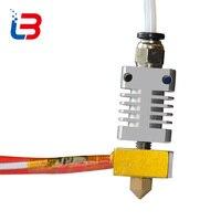 Tronxy 3D accessori per stampanti Estrusore Ugello 0.2mm 0.3mm 0.4mm tubo di riscaldamento 12 V 40 W termistore 100 K tubo in teflon per DIY