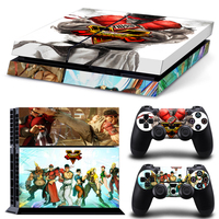 Skin Sticker For PS4 System Playstation 4 Console With 2 Controller Skins