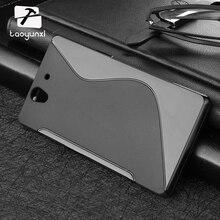 10 PÇS/LOTE Casos TPU Para Sony Xperia L S36H C2105 Z L36h C6602 C2014 E4 C4 C5 Mini Z1 L39H S39h Capa de Silicone Sacos Por Atacado