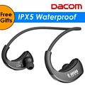 DACOM Броня G06 IPX5 Водонепроницаемый Bluetooth Наушники Беспроводные Наушники Спорта Работает Гарнитура Ушной крючок с Микрофоном fone де ouvido