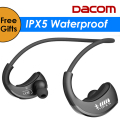 DACOM Armor G06 IPX5 Waterproof Bluetooth Headphones Wireless Earphone Sports Running Headset Ear-hook  with Mic fone de ouvido