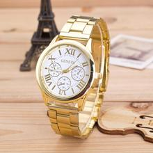 Top Quality Elegant Fashion Womens Waterproof Quartz Wristwatch