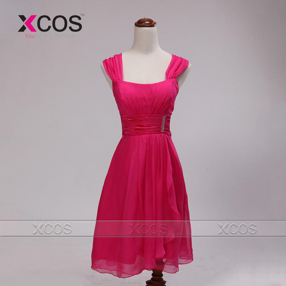 Women-Elegant-Straps-Chiffon-Short-Mother-of-the-Bride-Dress-Dress-for-Wedding-Mother-Dress-Custom (1)