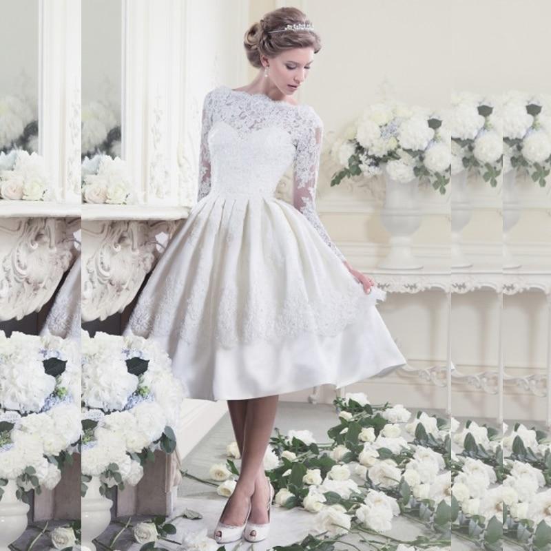 vestidos de novia cortos estilo vintage – vestidos de boda