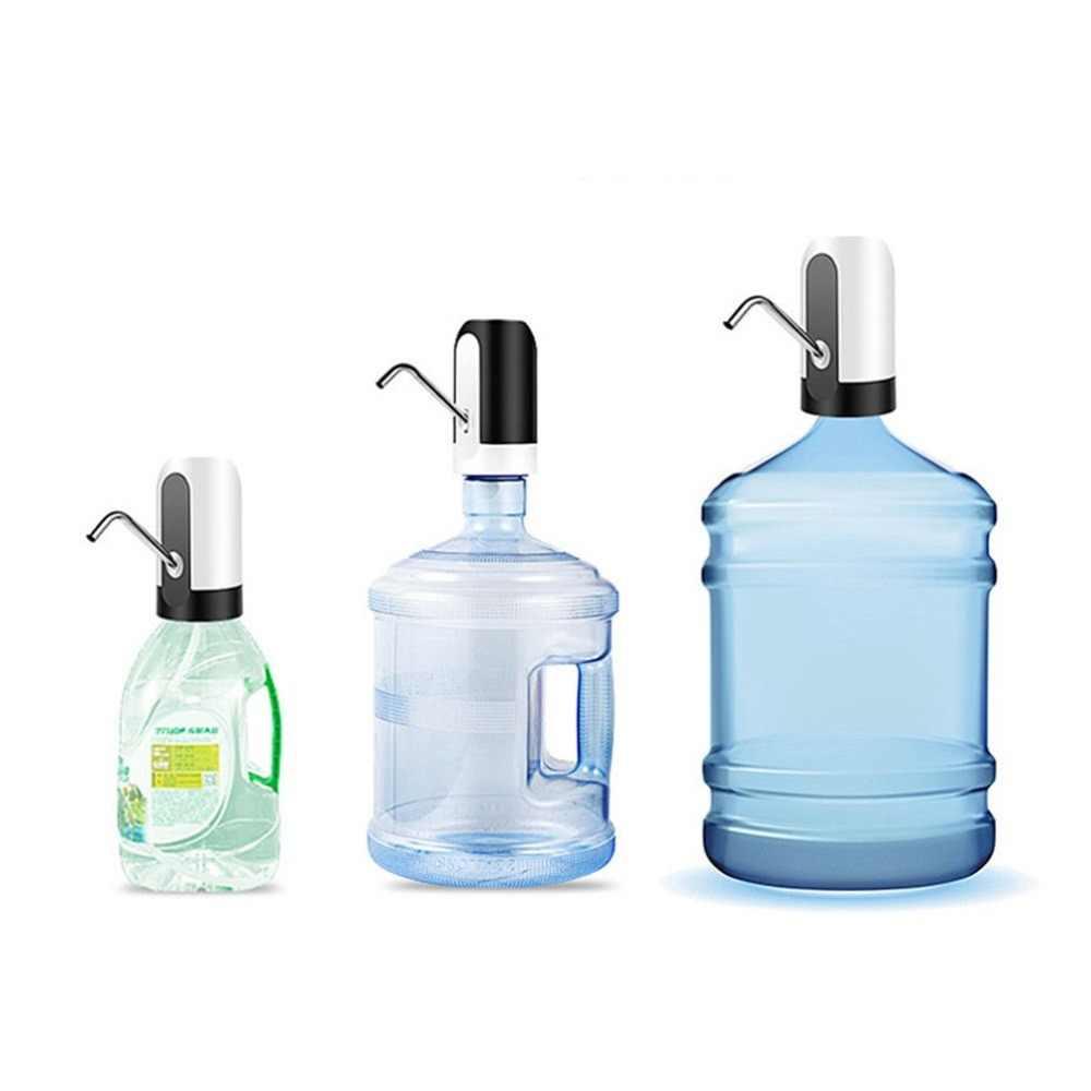 موزع مياه كهربائي محمول جالون شرب زجاجة التبديل الذكية اللاسلكية مضخة مياه معالجة المياه الأجهزة USB تهمة
