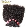 10 Пучки Малайзии Вьющиеся Девы Волос Уток 7А Необработанные Малайзии Вьющиеся Волосы Ткет Дешевые Малайзии Странный Вьющиеся Волосы Пучки