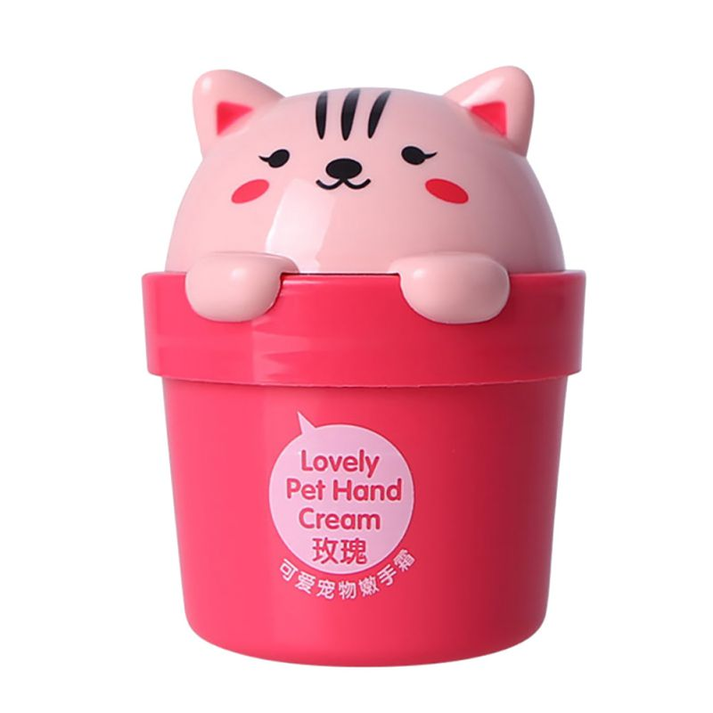 2017 Cute Hand Cream Lovely Cartoon Cat Whitening Hand Moisturizer Cream 30ML Hot A9 L28
