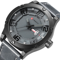 CURREN 2016 Mens Watches Top Brand Luxury Famous Men Wrist Watch Man Uhr Black Sports Army