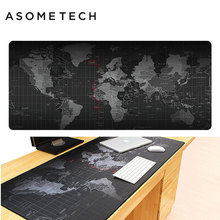 Universal Non-Slip Gaming Mouse Pad 2018 Large Old World Map Locking Edge Mice Pad Notebook Computer Gamer Mousepad Mouse Mat цена и фото