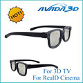 Free shipping ABS frame new hot selling 3D glasses for RealD cinema, for LG 3D TV,5pcs/lot