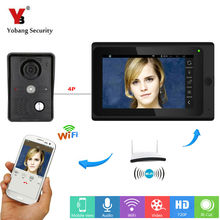 Cheaper Yobang Security 7inch WiFi Video Door Phone Bell With Indoor Screen IOS Android APP Control Visual Doorbell Door Camera Intercom