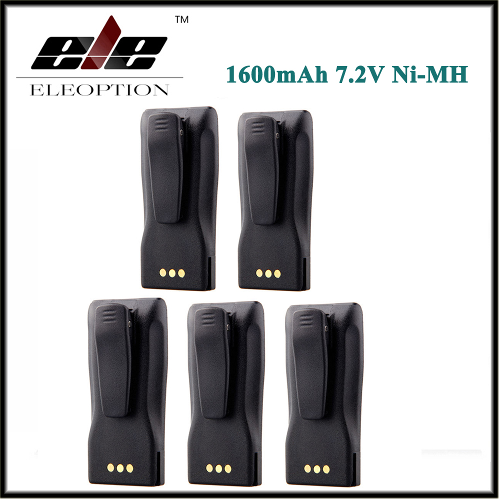 5 PCS/Lot 7.2V Ni-MH <font><b>Battery</b></font> for MOTOROLA <font><b>7.2</b></font> <font><b>V</b></font> NNTN4496 NNTN4496AR NNTN4851 NNTN4851A 1600mAH image
