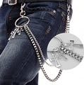 New Arrrival Metal Cross Design Wen Punk Style Hip Hop Metal Belt Chain Waist Chain Street Boy Trousers Chain