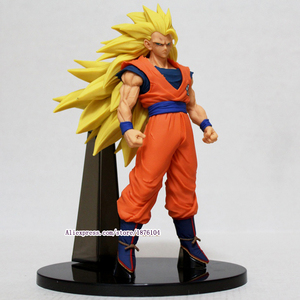 Image 2 - Anime Dragon Ball Z Goku Action Figure Juguetes ACGN Dragonball Super Saiyan 3 Figures Collectible Model Kids Toys Brinquedos