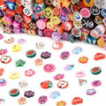 Best Sale 100 PC 3D Designs Nail Art Nailart Manicure Fimo Canes Sticks Rods Stickers Gel Tips