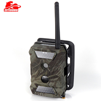 ZIYOUHU охоты Камера фото ловушки S680M 940NM 12MP HD 1080 P Trail Камера MMS GPRS SMTP GSM Ночное видение дикой природы разведчик chasse
