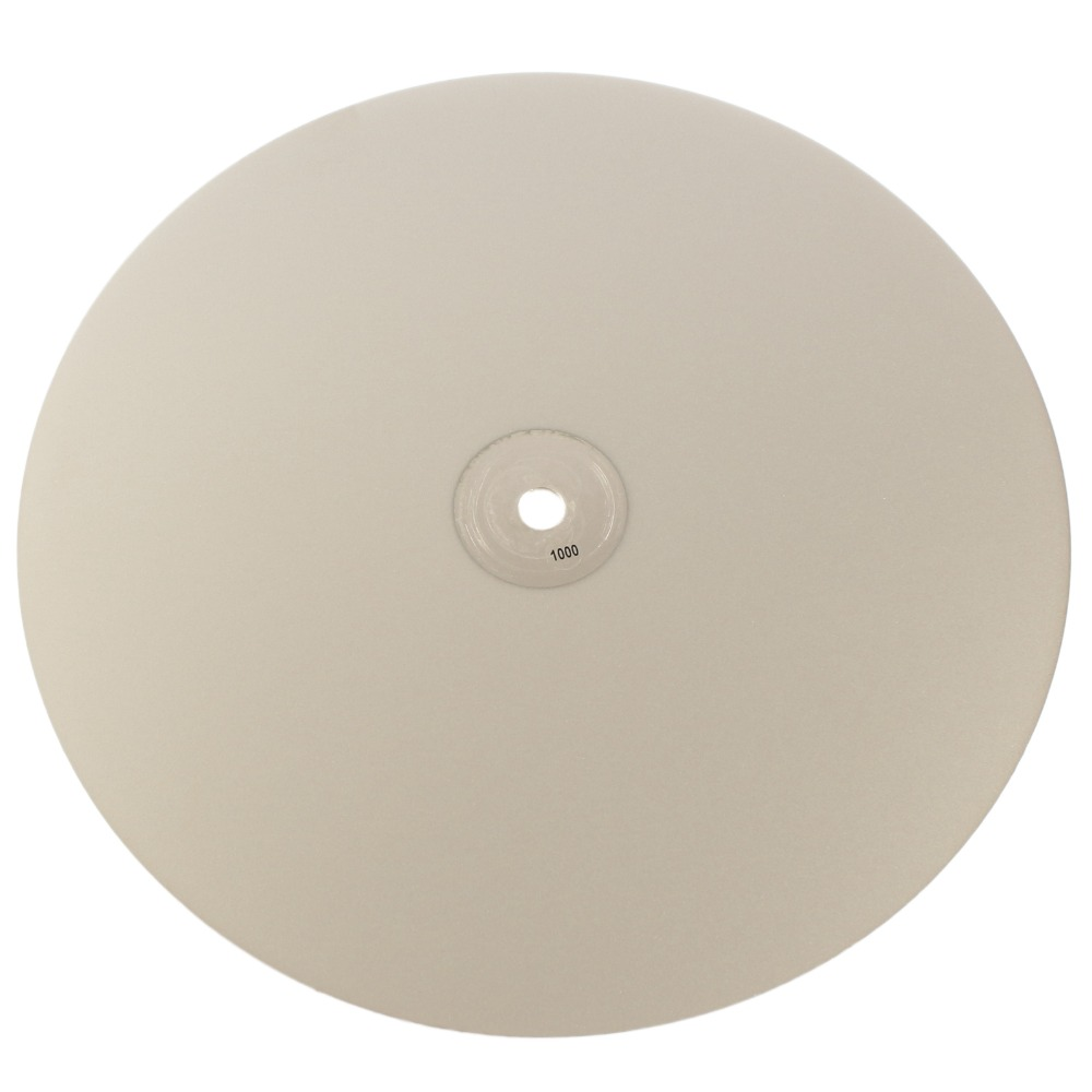 12 inch 300mm Grit 1000 Fine Diamond Flat Lap Disk Coated Grinding Disc Lapidary Wheels Tools for Stone Jewelry Glass Rock 3pcs 2 6 inch grit 240 600 1000 kit thin flat diamond stone sharpeners knife fine medium coarse