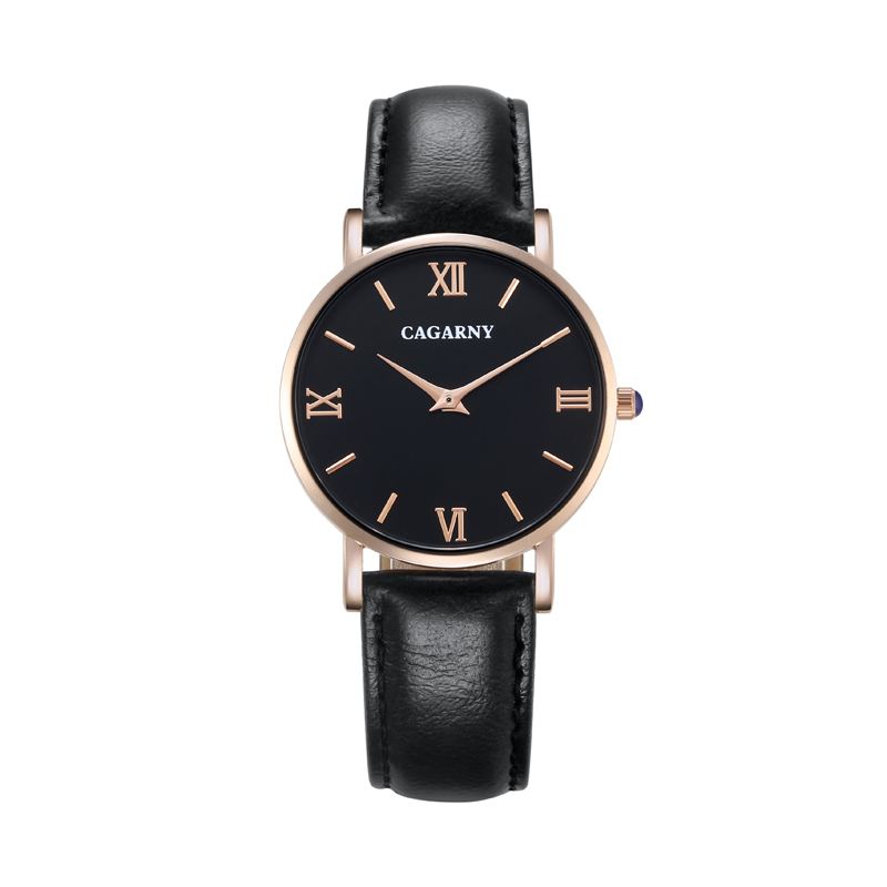 Luxury Watch Women Rose Gold Fashion Quartz Womens Watches Vogue Leather Small Wrist Watches For Women Clock Cagarny Reloj Mujer retro small dial watch women simple desingn thin belt casual watches womens vogue pu leather analog quartz wrist watch reloj n