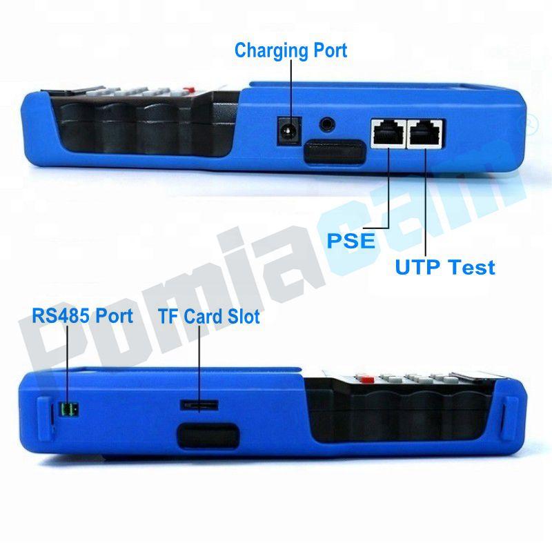 Новейший коаксиальный HD4.0 CCTV Тест er IPC9310 H.265 4 к IP 5MP AHD 8MP CVI TVI CVBS камера тест er монитор ONVIF POE UTP/RJ45 TDR тест