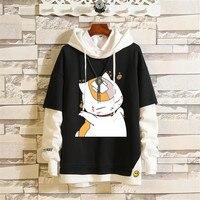 Cosplay Anime Tonari no Totoro Oversized hoodie Kawaii Spirited Away Hoodie anime hirajuku Unisex hoody black casual tops gift