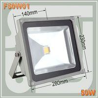 Free shipping 50W LED Floodlight waterproof IP65 Outdoor Flood Light Projection Light AC85 265Vac 50 W led street light