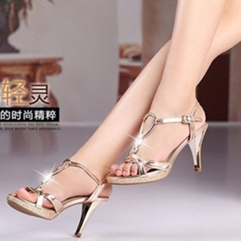 Lady sexy Glitter Sequned genuine leather peep open toe big size(4-9) Thin high heeled Sandals women Pumps Ladies Platform Shoes big size high spike heel platform women pumps peep open toe leopard patent leather party wedding slip on sexy lady thin stiletto