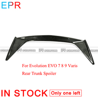 For Evolution EVO 7 8 9 Varis Carbon Fiber Rear Trunk Spoiler(Original spoiler needs to be moved) Body Kit