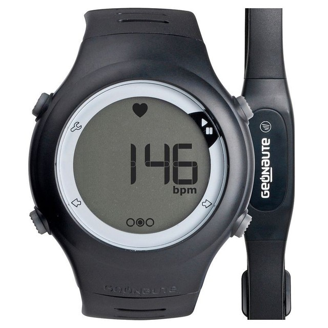 Decathlon 5 Atm Waterproof Pulse Meter Heart Rate Monitor Watch With Chest Band Strap Swimming Chronograph Cycling Running Watch