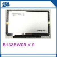 Free Shipping ! B133EW05 V.0 B133EW05 V0 LTD133EV3D LP133WX2 TLA1 For Dell E4300 LCD Display Screen 1280*800 40Pins