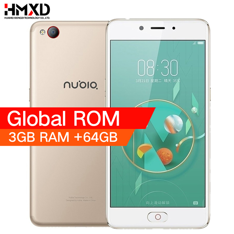 Original 2017 ZTE Nubia M2 LITE 4G LTE MT6750 Octa Core Android M 5.5″ 3G RAM 64GB ROM 16.0MP 3000mAh Battery  Smartphone