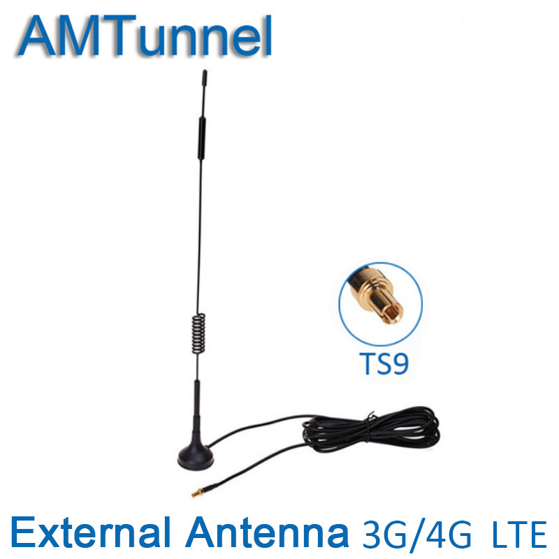 3G 4G Antenne TS9 mimo 4G LTE antenne ZTE 12dBi hotspot antenne for3G 4G Huawei Routeur wifi routeur