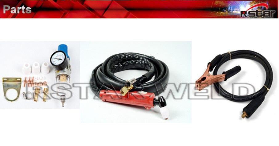 New 2015 Portable digital Plastic panel Inverter Air Plazma Cut50 Welding Equipment russia local send to you