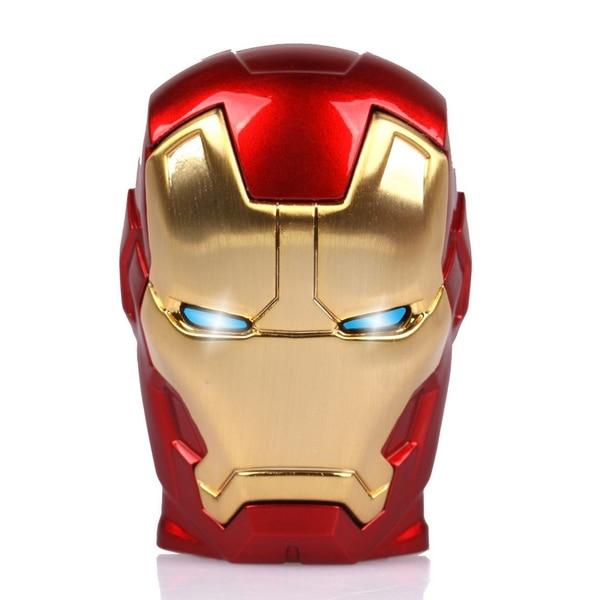 Avengers Iron Man Energy Ark LED Flash Real USB Flash Drive 128GB 512GB Memory Card Mini USB Stick Pendrive Key 256GB Gift 2.0