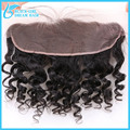 "Loose Wave 13""*4"" Ear To Ear Lace Frontal Closure With Baby Hair 100% Virgin Brazilian Human Hair Can Bed No Tangle No Shed"