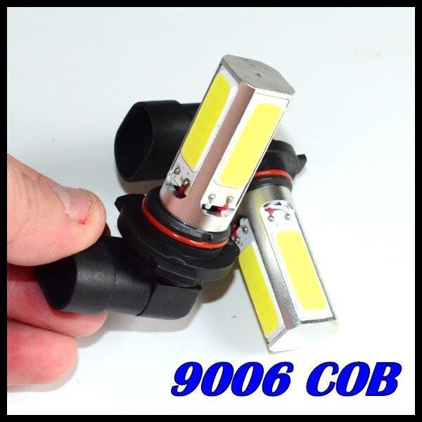 50 X Автомобильный светодиодный противотуманный фонарь 9006 светодиодный 9005 h11 h7 9006 COB Дневной головной светильник противотуманная фара белый автомобиль супер яркий