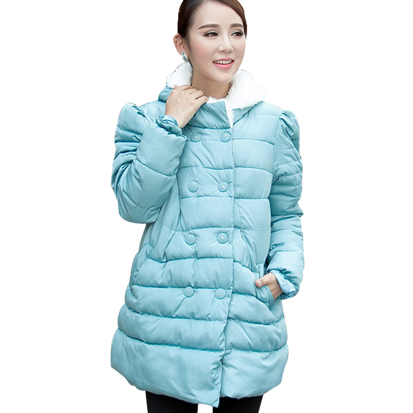 Maternity Winter Jackets Coats Clothes Plus Size Windbreaker Warm Down Coat For Pregnant Women Pregnancy Hooded Outwear Clothing