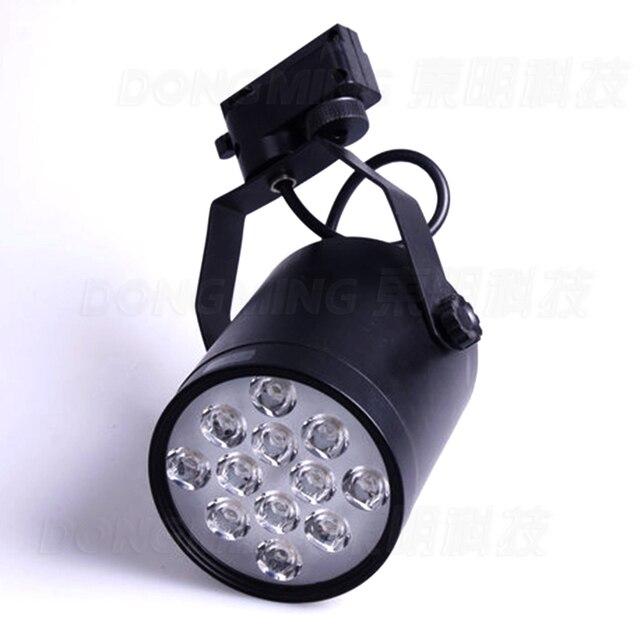Rail Déclairage LED 15 W Piste lampe Ampoule 15 Watt intérieur cuisine Lights85V ~ 265 V avec 15 leds CE ROHS Garantie 2 ans