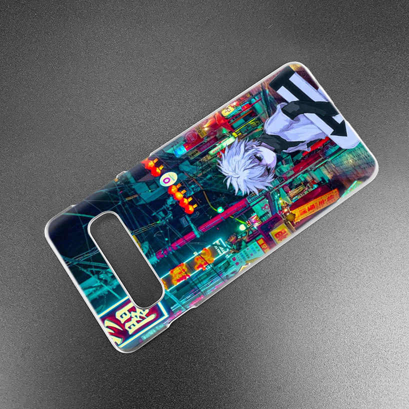 Hunter X Thợ Săn Ốp Lưng Dành Cho Samsung Galaxy Samsung Galaxy S10 S20 Ultra 5G S10e S9 S8 J4 J6 Plus 2018 Note 10 8 9 PC Cứng Anime Bao Bọc Điện Thoại