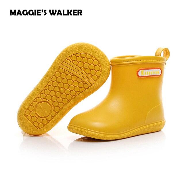 3c69eb071189 Kids Boots Girls Boys Rain Boots Pvc Transparent Rain Boots Fashion Rubber  Shoes Toddler Kids Non Slip Water Shoes Sapato