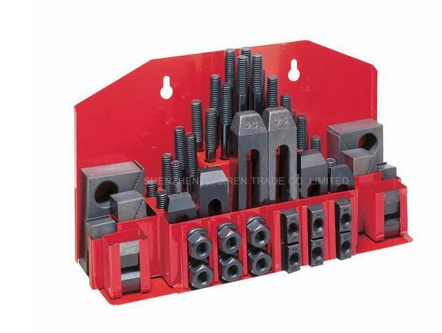 Metex milling machine clamping set M12 58pcs mill clamp kit vice  1SET