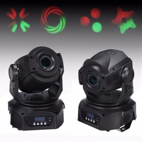 Ship From DE 2X 12CH 30W LED Spot LED Spot Moving Head Light DMX 512