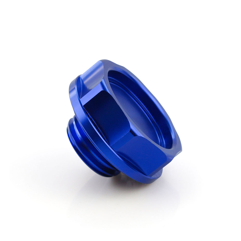Filtro De Óleo Do Motor Azul Capa Tampa Do Tanque De Alumínio Mugen Power Acura Honda