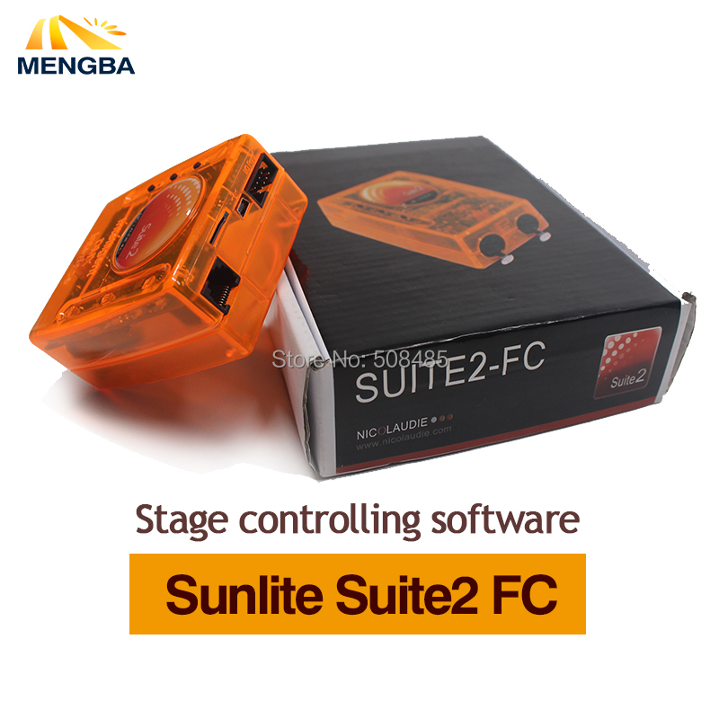 Sunlite Suite2 First Class USB DMX Stage lighting software 1536 Channel Sunlite Dmx FC Controller  Stage controlling software stage controlling software sunlite suite2 fc dmx usd controller dmx good for dj ktv party led lights shehds stage lighting