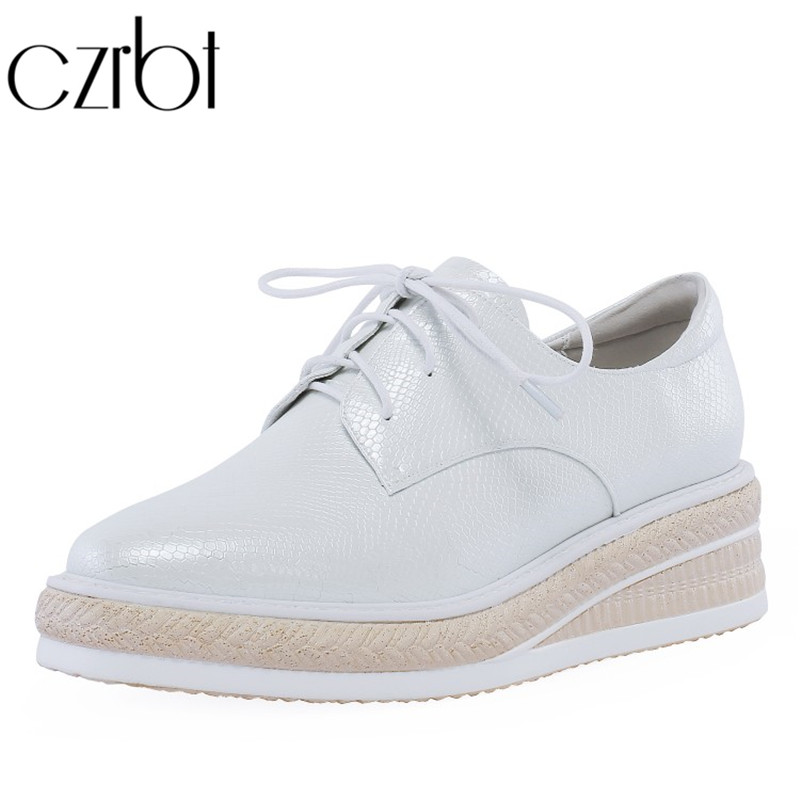 czrbt 2019 Spring Hot Sale Shoes Women Fashion Lace-up Flat Platform Shoes Casual Non-Slip Breathable Sweat zapatos de mujerczrbt 2019 Spring Hot Sale Shoes Women Fashion Lace-up Flat Platform Shoes Casual Non-Slip Breathable Sweat zapatos de mujer