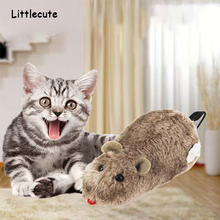 Pet Toy Wireless Winding Cat Mechanism Mouse Plush For Dog Trick Playing Kids Toys Rat Mechanical Motion Rats