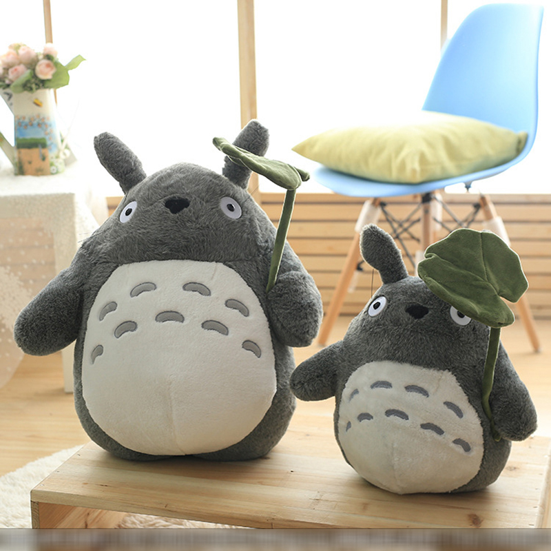 Мягкие плюшевые игрушки Totoro Cat для девочек, плюшевые животные, аниме, куклы Totoro, подарок для детей, мягкая подушка, декор подушки
