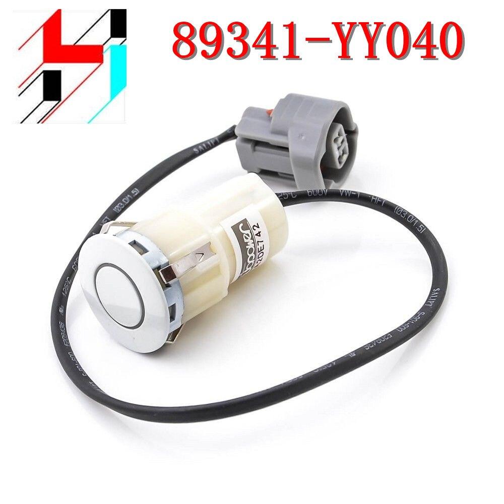 10pcs Free shipping 89341 YY040 Bumper Backup Reverse PDC Parking Sensor For Toyota Rav4 Camry