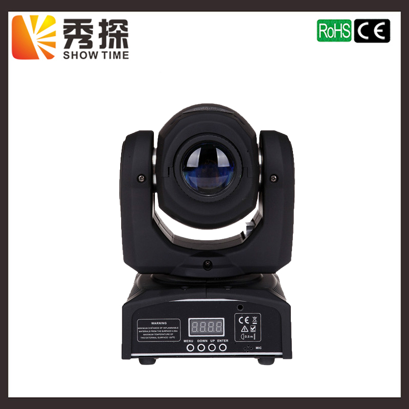 SHOW TIME 30W Gobo Mini LED moving head stage effect color light Professional DJ DMX stage disco spot lighting rasha factory price 30w mini led moving head spot gobo light with 9 11ch for stage event party 90 240v dmx stage moving light